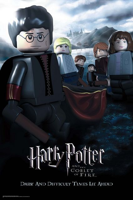Lego Harry Potter And The Goblet Of Fire Harry Potter Movie Posters Lego Poster Harry Potter Poster