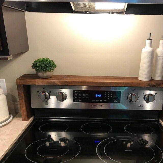 Spice rack Oven/Stove Spice Rack #apartmentdecor
