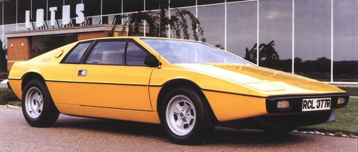 Lotus Esprit The Quintessential 1970s Supercar Lotus Esprit Lotus Car Lotus