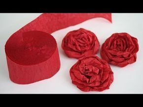 How to Make Twisted Crepe Paper Rosescrepe