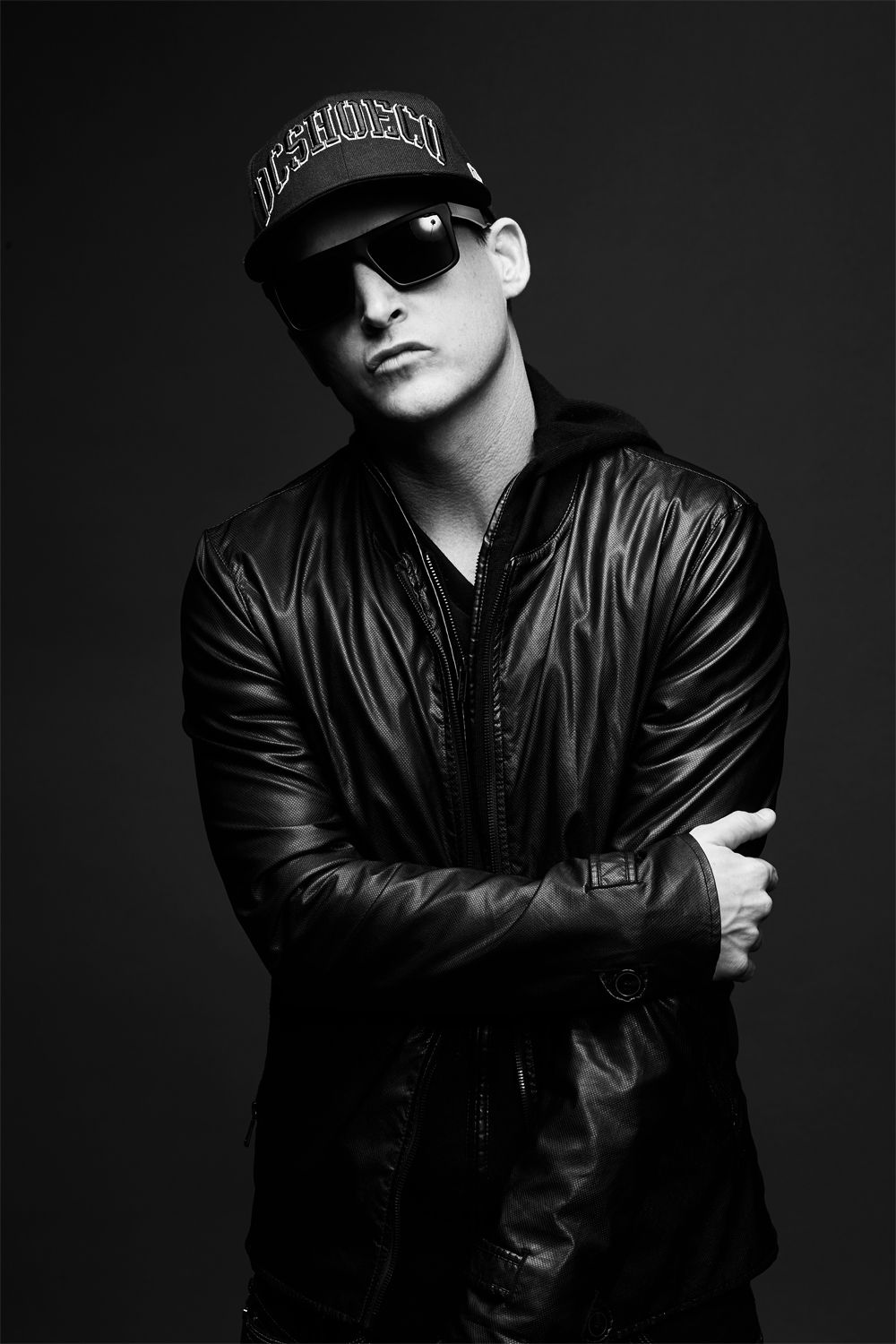43b78c2bd6 Rob Dyrdek in IVI Sepulveda Sunglasses in Matte Black