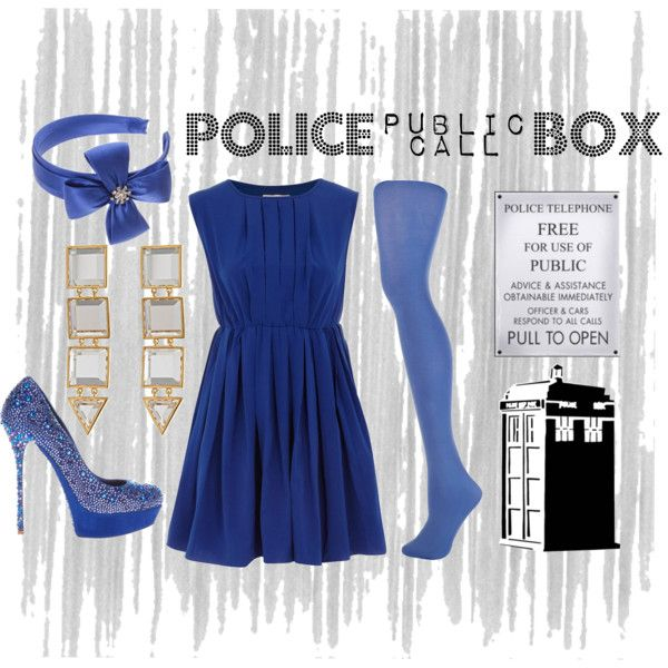 something old, something new, something borrowed, something   Tardis blue, lol