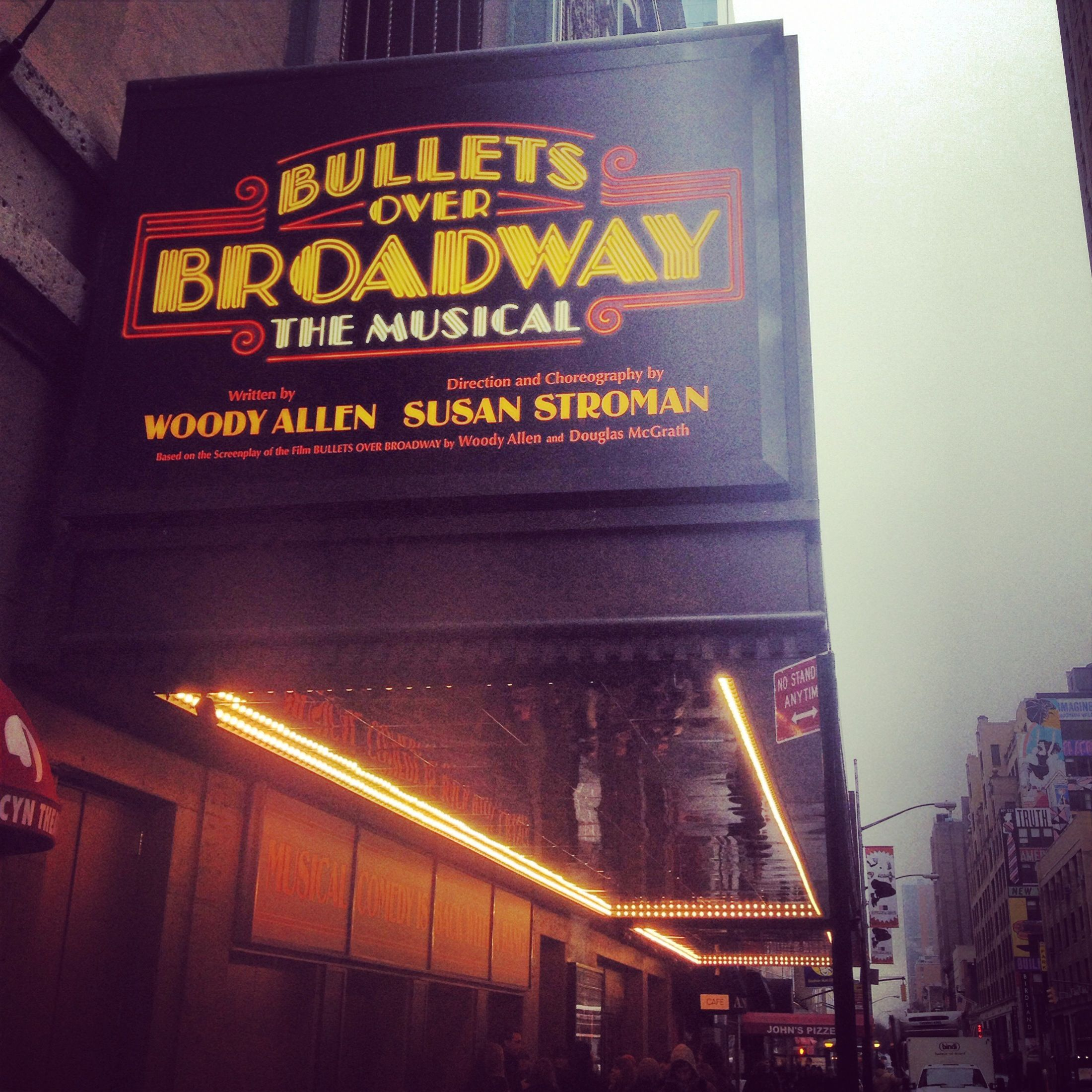 Bullets Over Broadway April 10 2014 August 24 2014 Broadway