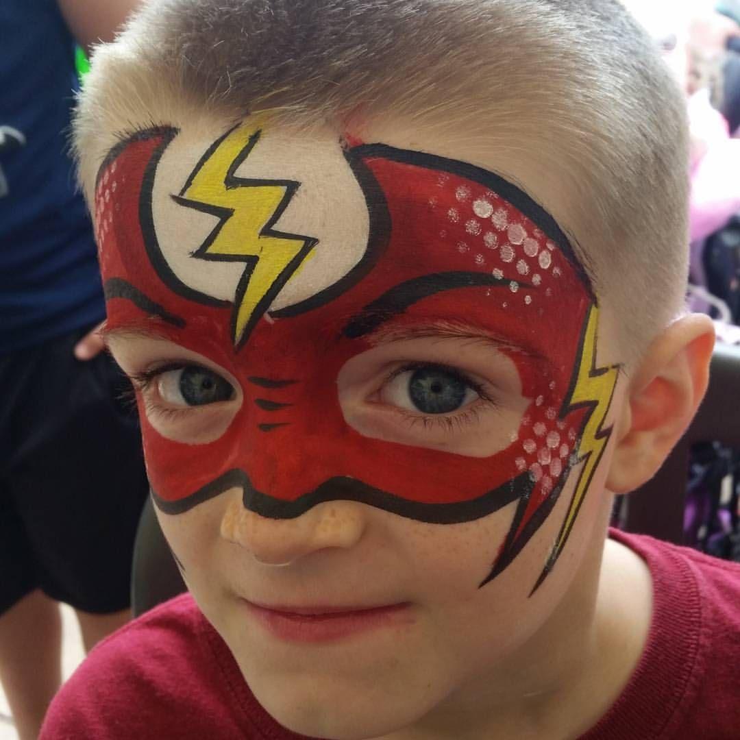 As 25 Melhores Ideias De Flash Face Paint No Pinterest