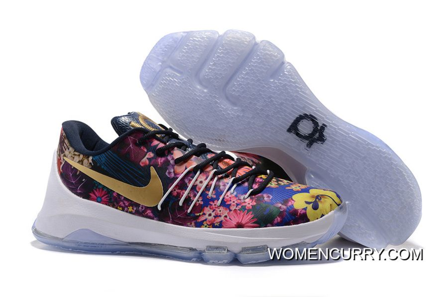 Big Discount  66 OFF Nike KD 8 EXT Floral Multicolor 2016