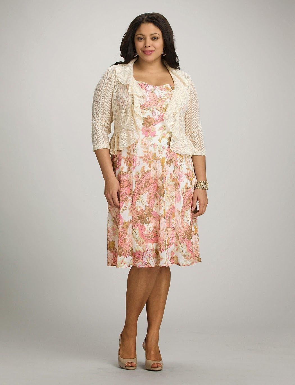 8df98724f Moda para mujeres gorditas   Modernos vestidos casuales para gorditas