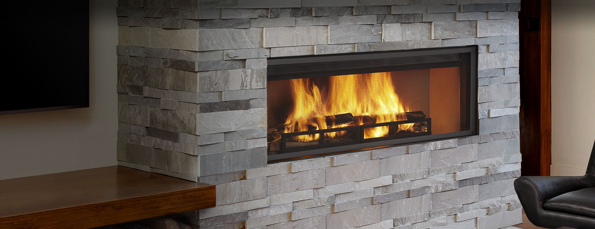 Heatilator Proudly Presents Its First Modern Linear Wood Burning