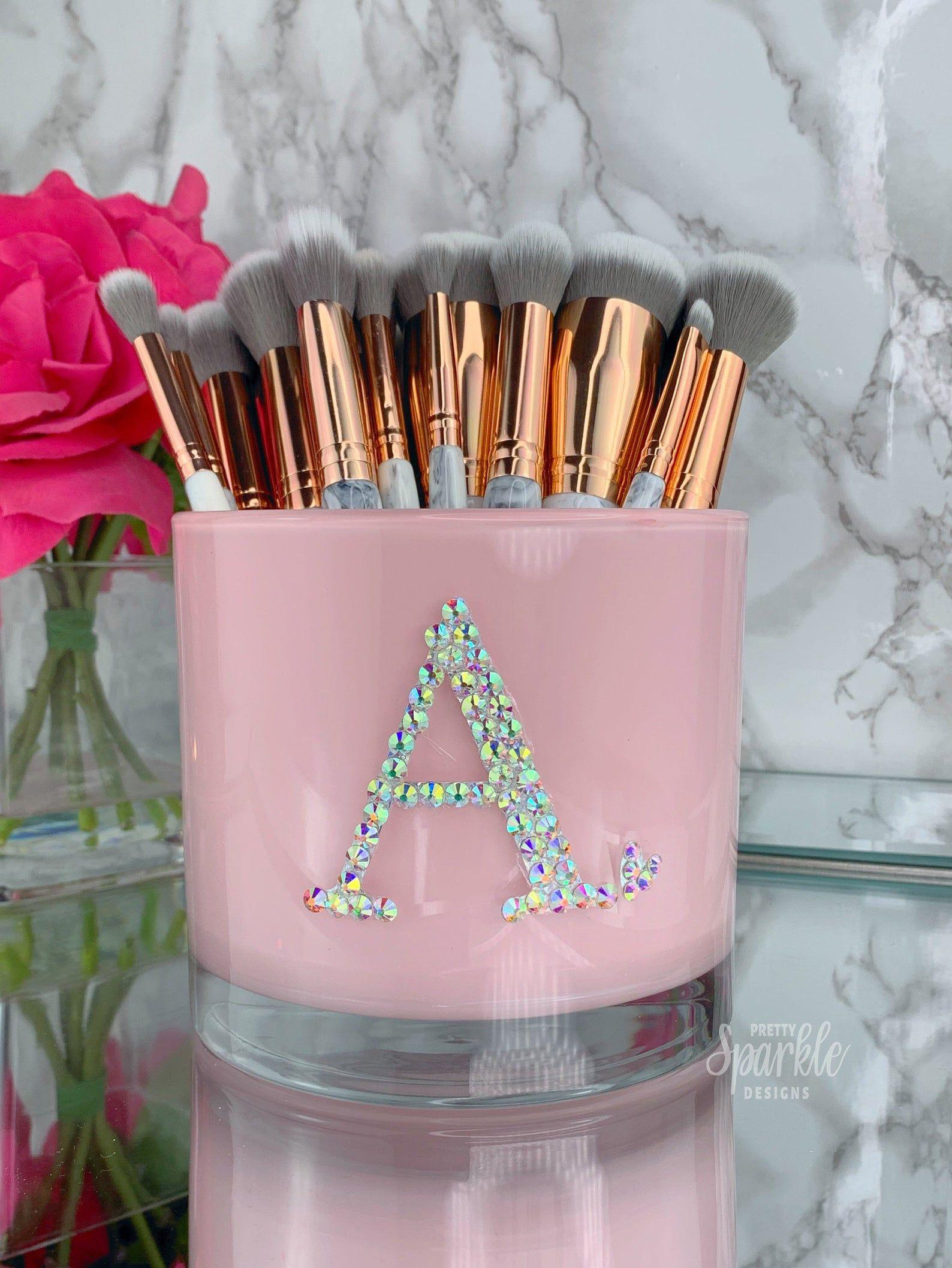 Large Makeup Brush Holder, Makeup Brush Holder, Girly