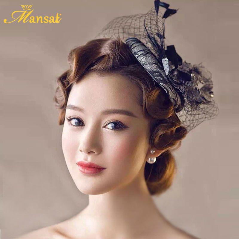 Wedding Hairstyle Price List: Aliexpress.com : Buy Chic Black Women Hats Sinamay