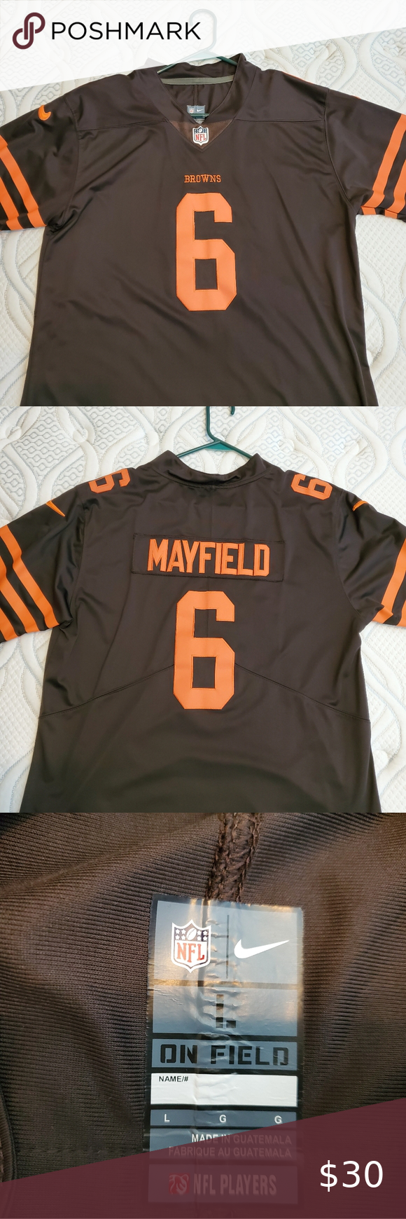 baker mayfield color rush jersey