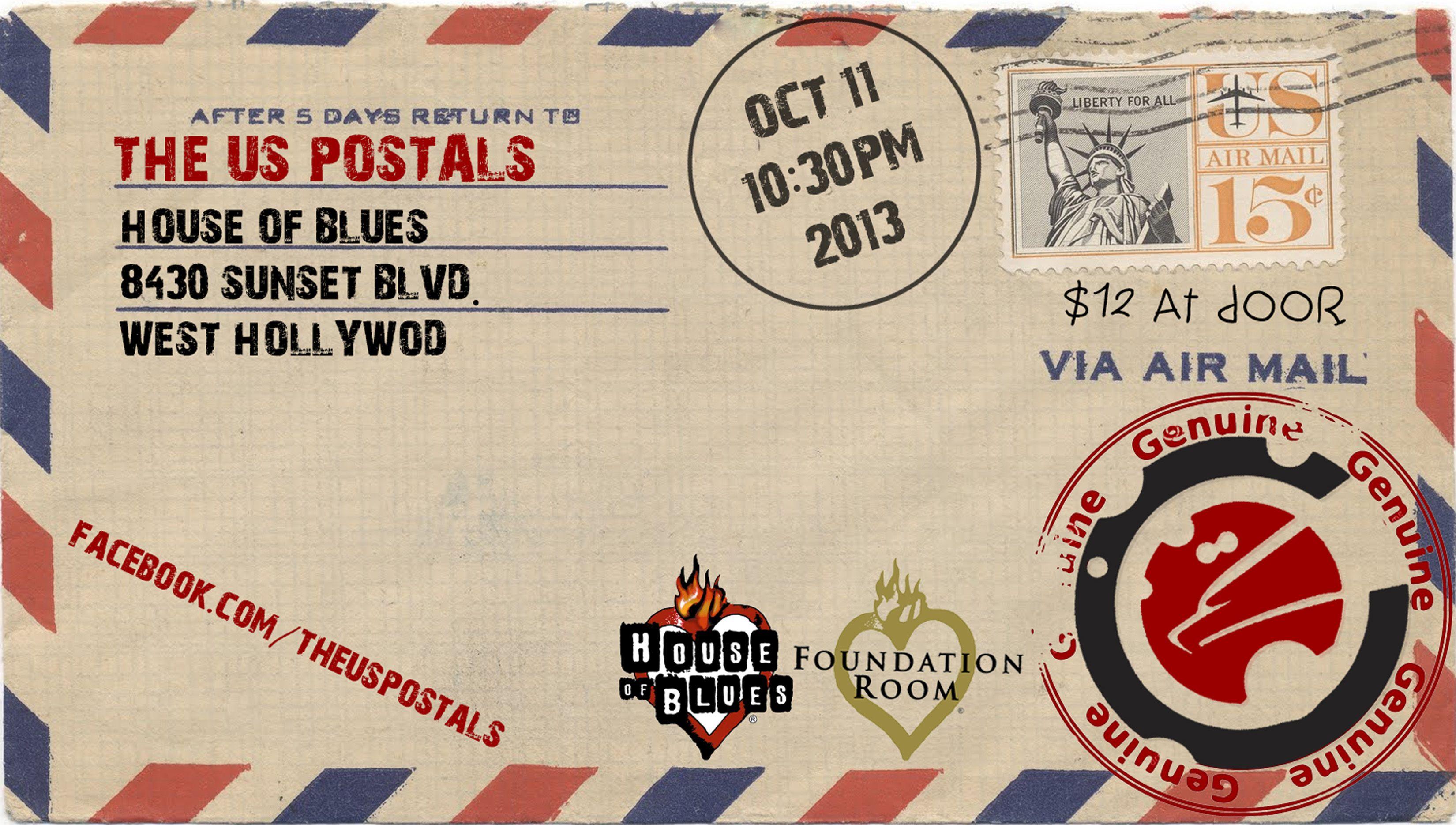 House of Blues Foundation Room -Hollywood, California 10/11/13
