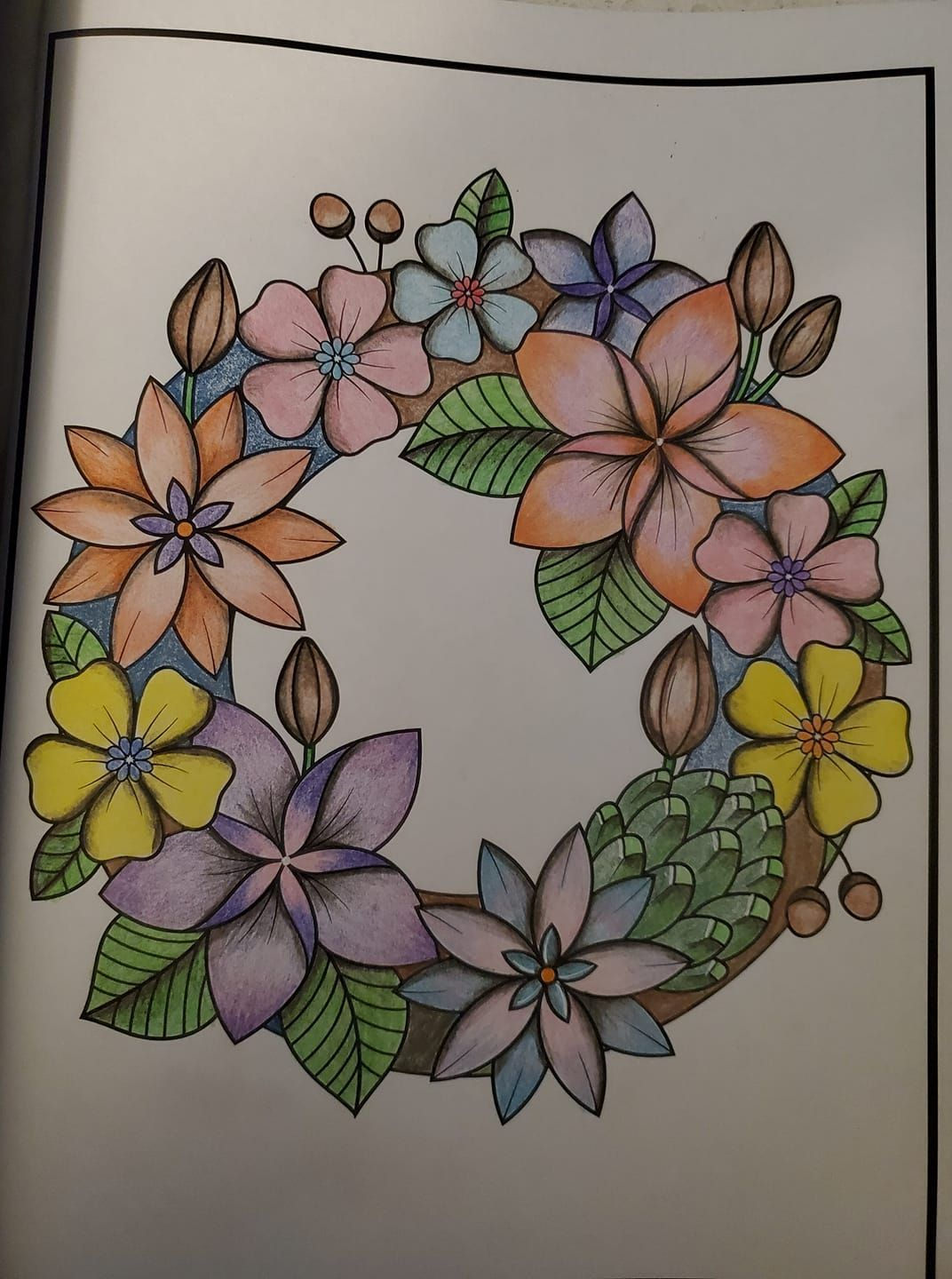Printable Flower Coloring Page Instant Download Digital Etsy In 2021 Flower Coloring Pages Printable Flower Coloring Pages Printable Coloring Book