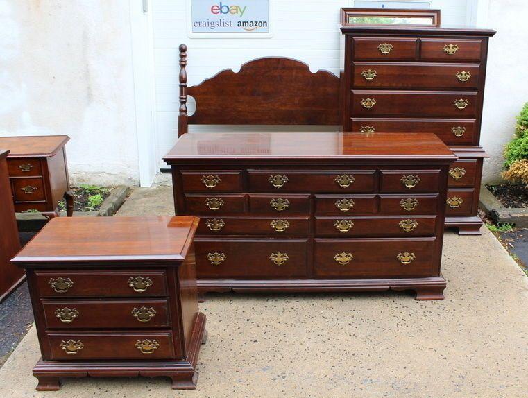 Cherry Bedroom Furniture   Living Vintage   Pinterest   Queen beds ...