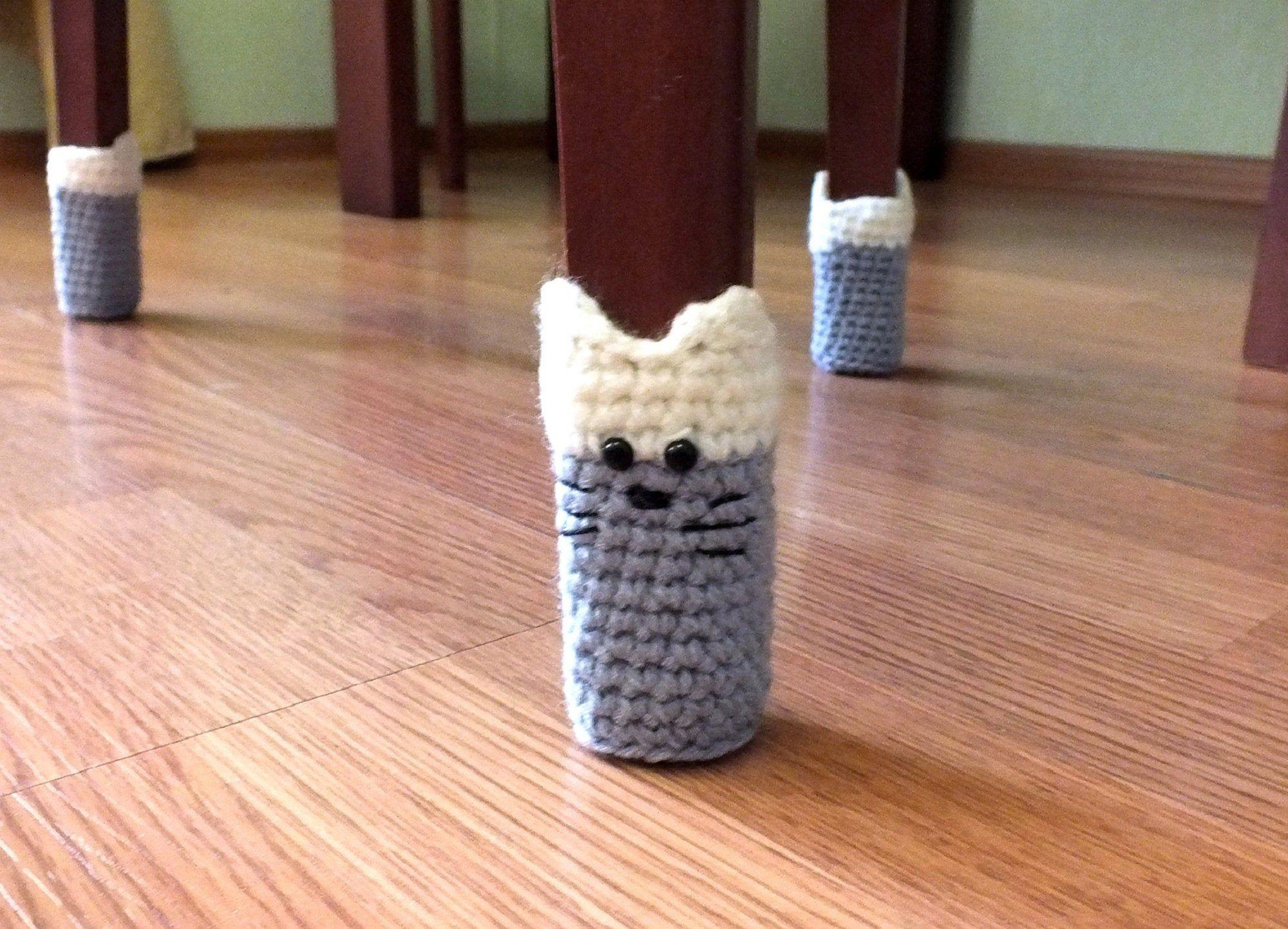 Chair Socks Cat Paw Sock Chair Socks For Chair Legs As Chair Etsy In 2020 Chair Socks Crochet Toilet Roll Cover Chair Socks Crochet