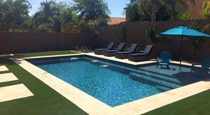 Our Pool Types Models Dolhpin Pools Small Pool Design Backyard Pool Landscaping Swimming Pools Backyard