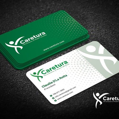 Design A Hip Business Card For Caretura Medical Evaluation Center