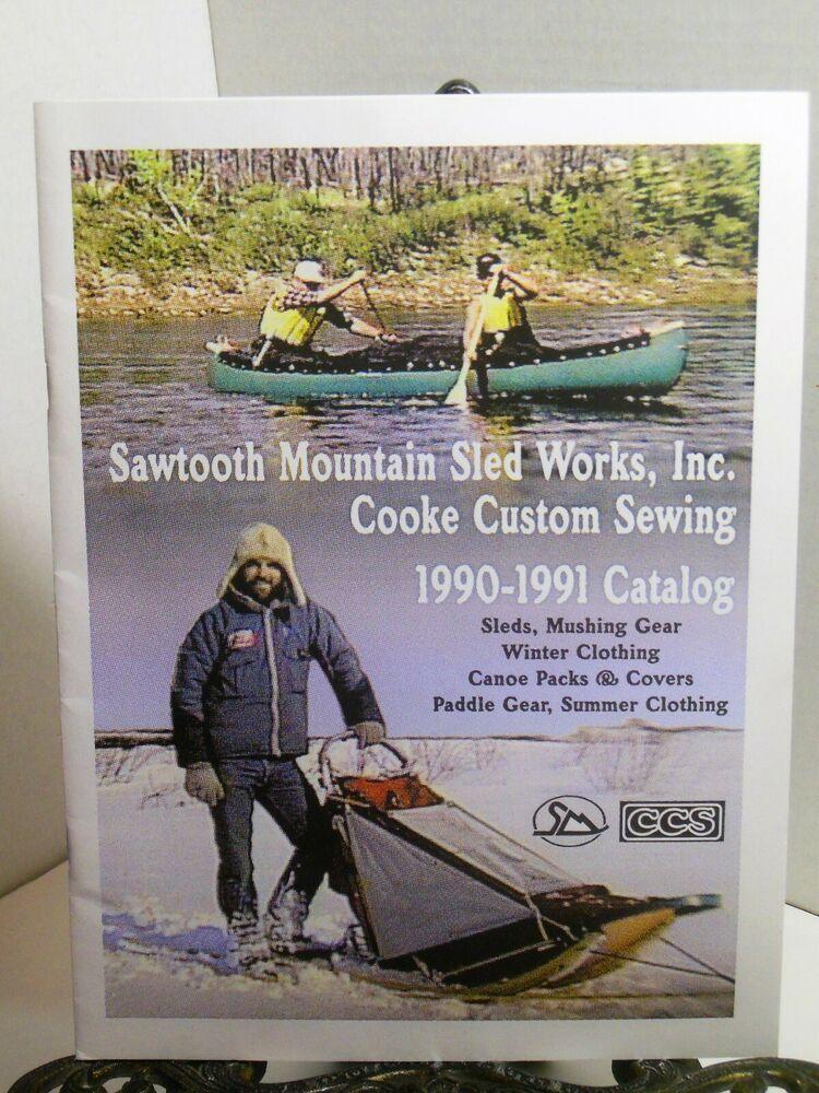 SAWTOOTH MOUNTAIN SLED WORKS CATALOG Mushing Gear Canoe