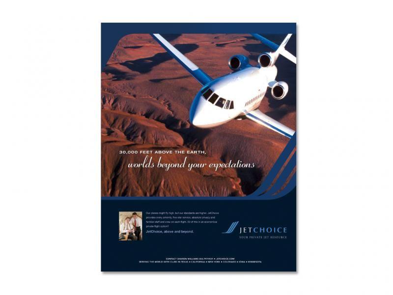 JetChoice - Print Advert