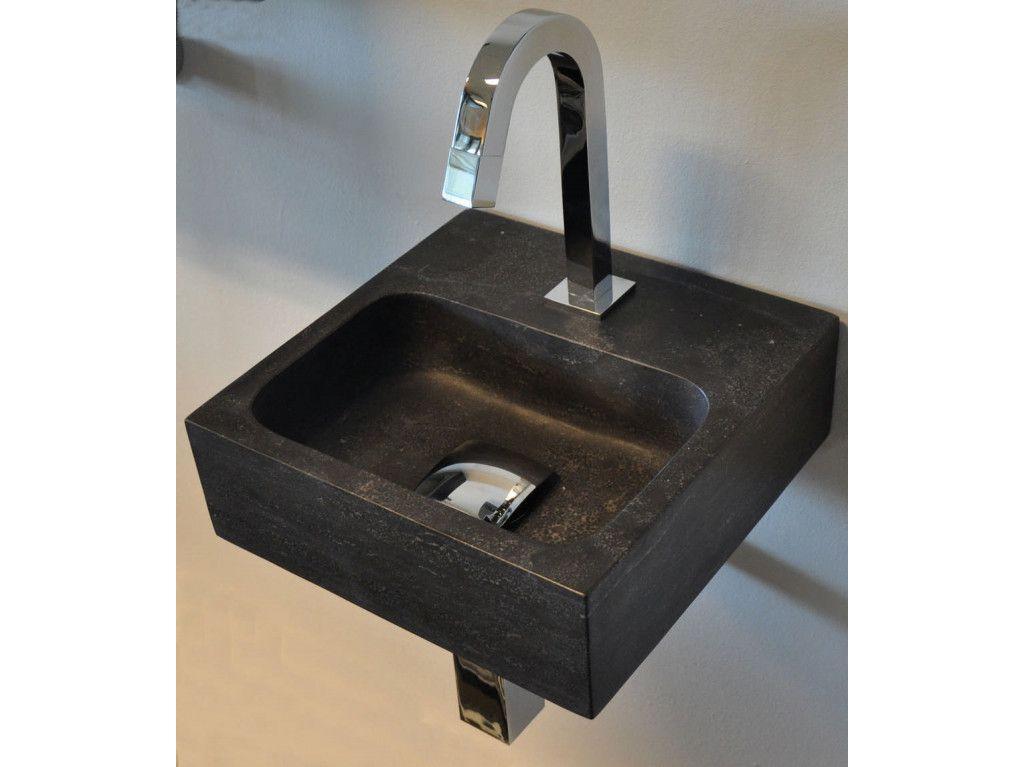 Fontein Natuursteen Toilet : Sanimoodz hardsteen fontein cm natuursteen zwart