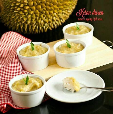 Resep Ketan Duren Oleh Susi Agung Resep Resep Makanan Masakan