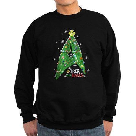 Trek the Halls Sweatshirt (dark) Trek the Halls Sweatshirt