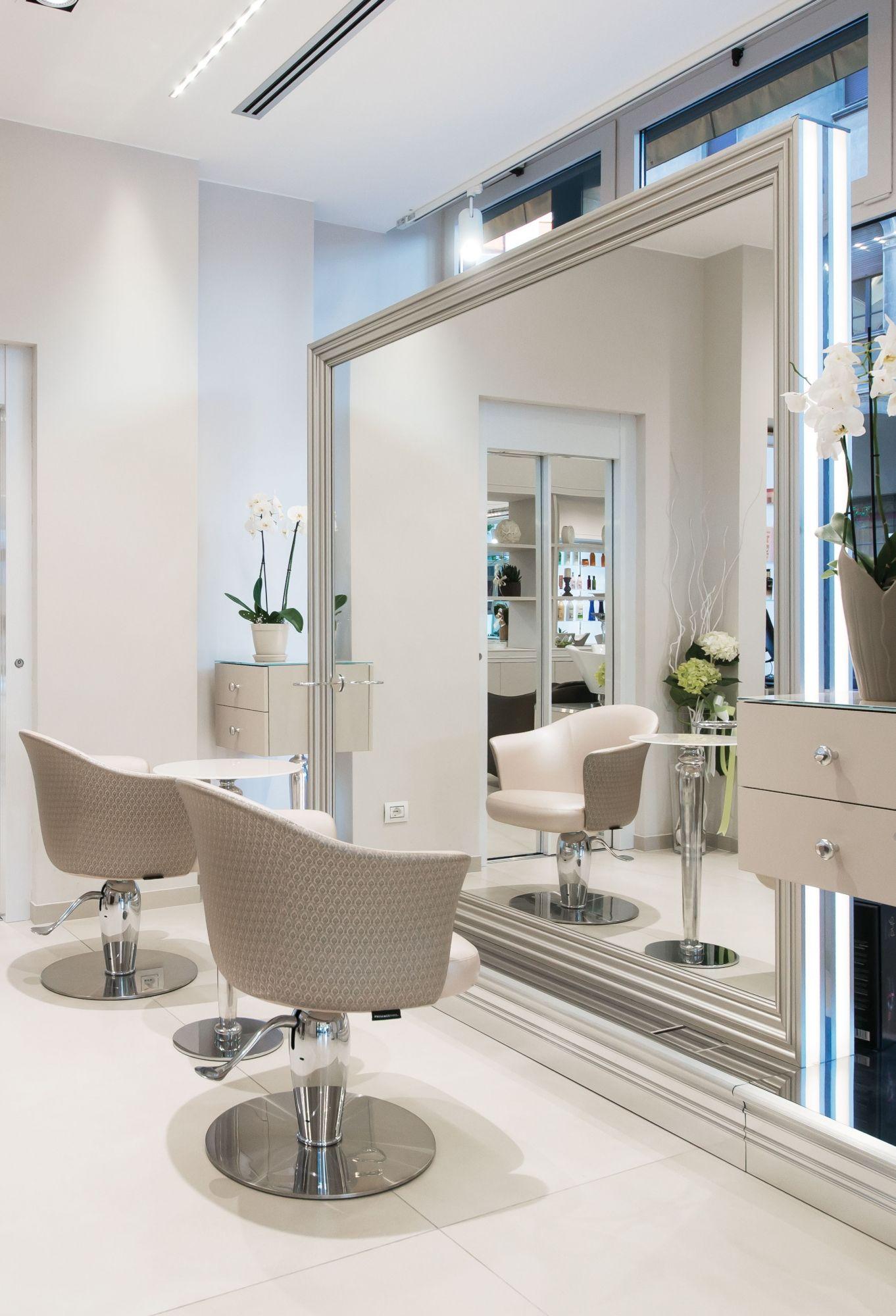 Rodolfo Double Freestanding Styling Unit Beauty Salon Furniture Salon Interior Salon Furniture