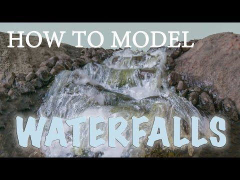 Model Waterfalls and Rapids - Model Scenery | Woodland