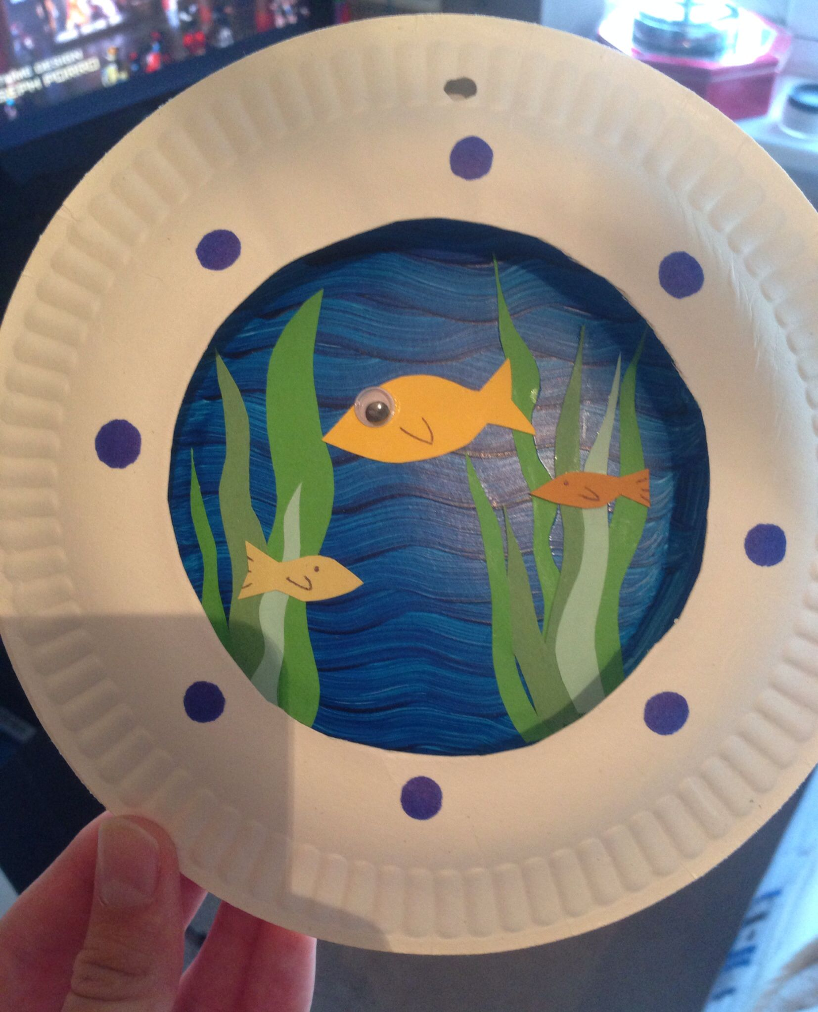 Under The Sea Submarine Window Kids Craft Easy And Looks