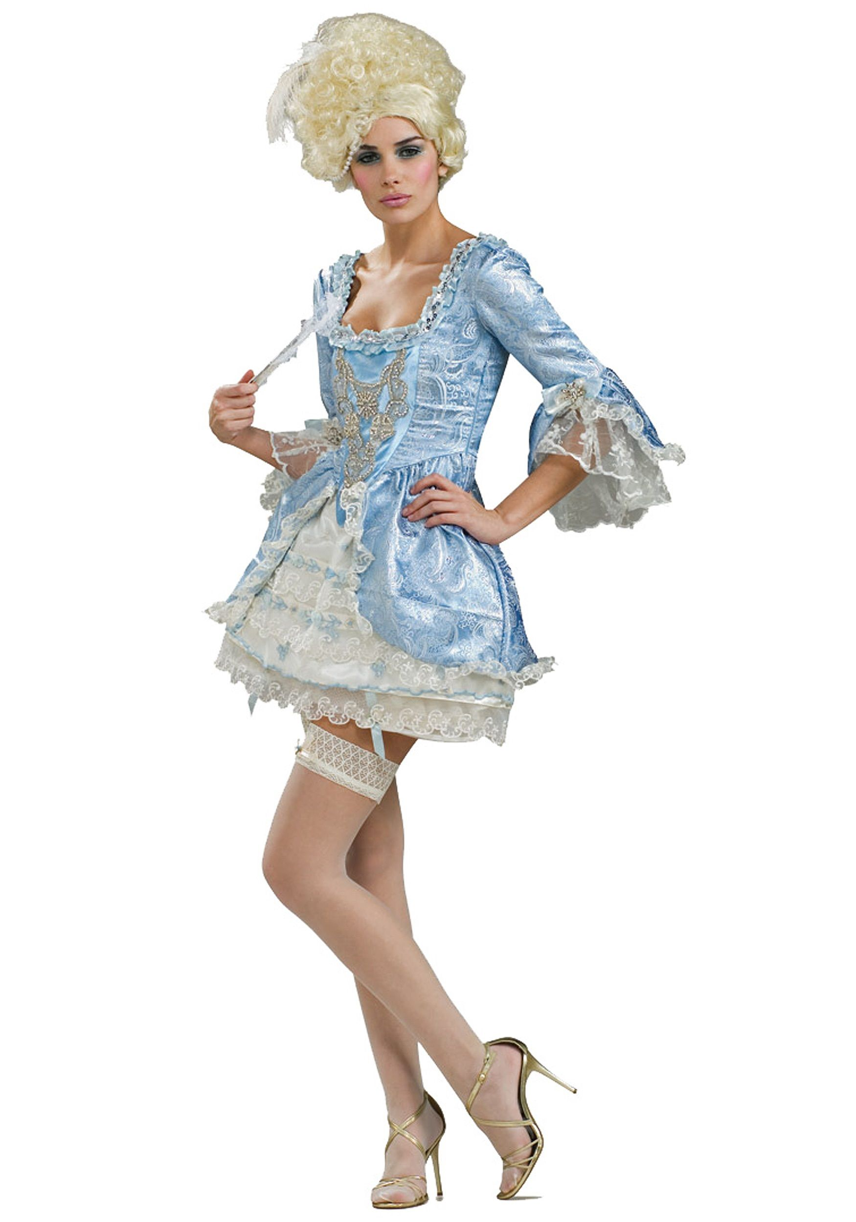 marie antonnette dresses | Sexy Marie Antoinette Costume - Naughty French  Queen Costume Dress