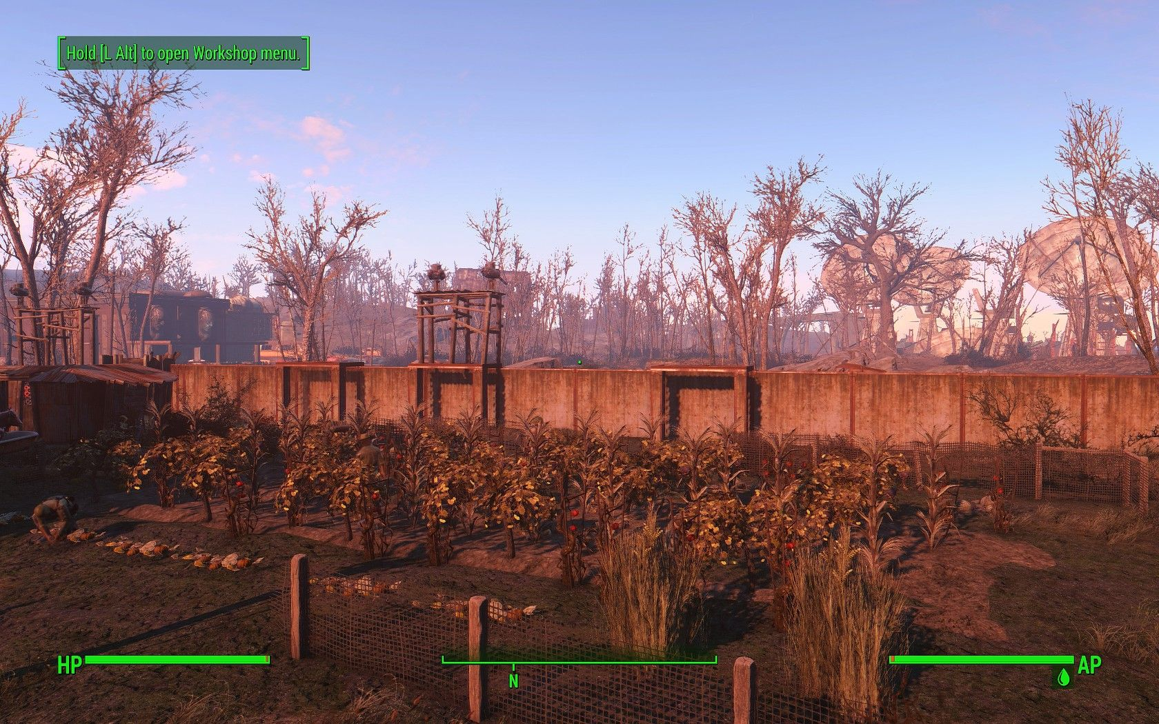 Ideas Build Settlement Walls With Concrete Walls Use Small Floors As Walkways Support A Few Lar Fallout 4 Settlement Ideas Fallout Settlement Fallout 4 Mods