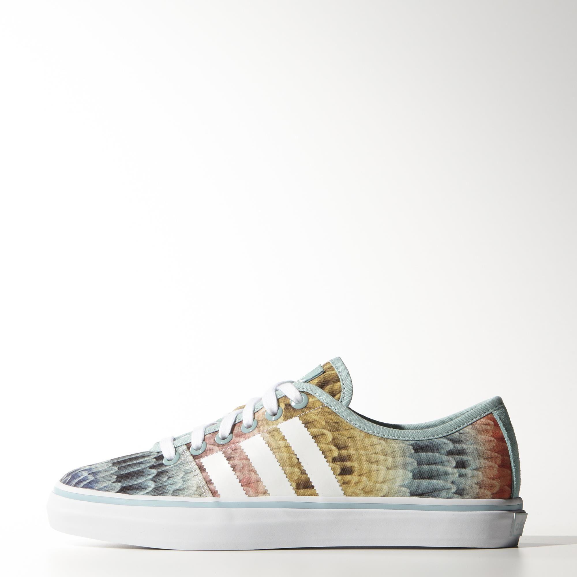 Zapatos azules de verano Adidas Adria para mujer FN5fpThe