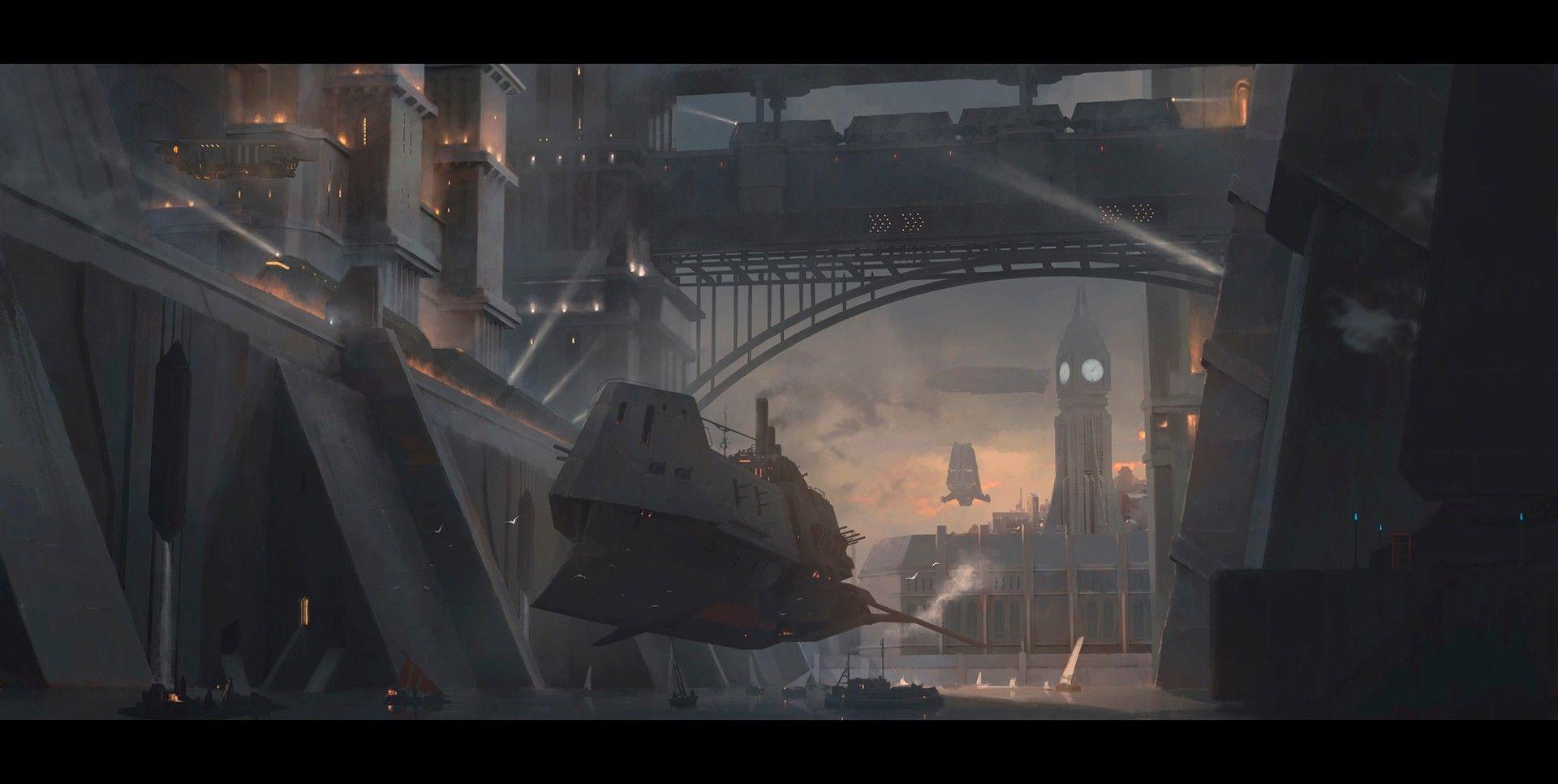 ArtStation - Dreadnought, Rostyslav Zagornov