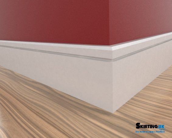 Edge 5mm Grooved Architrave Modern Mdf Mouldings Skirting Uk Skirting Boards Mdf Skirting Architrave