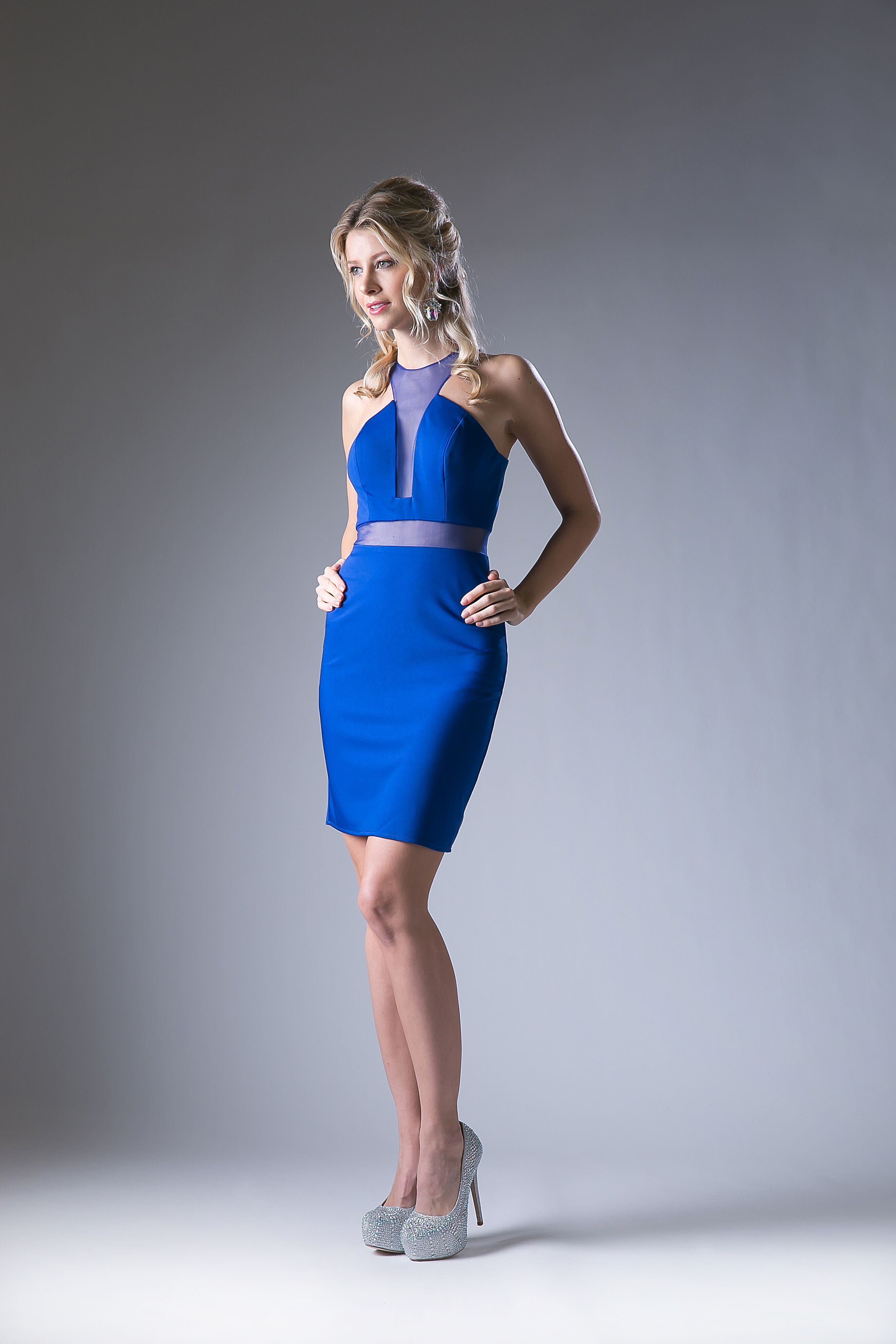 Short dress mock two piece cocktail party products pinterest