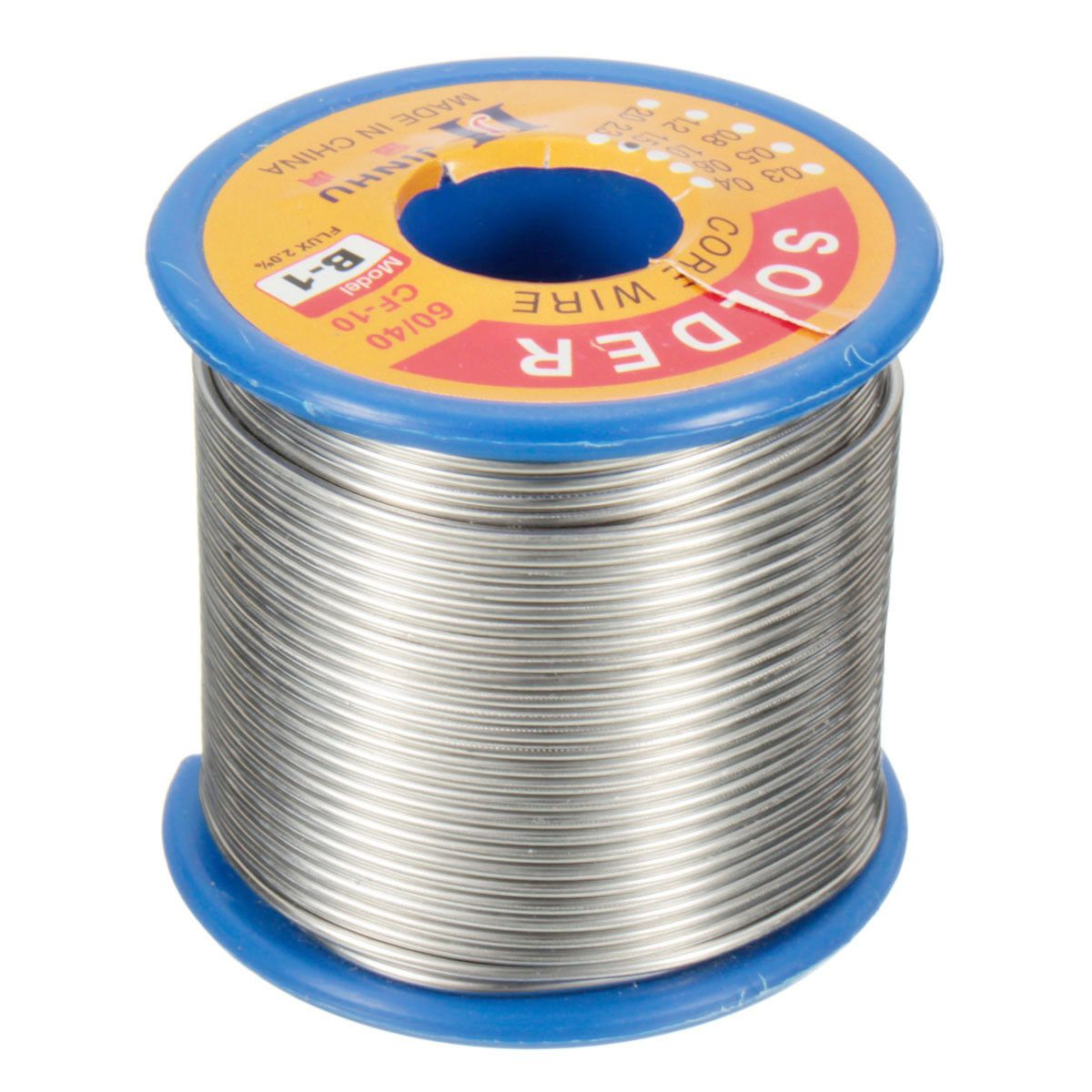 500g 1.5mm Flux 2.0% Solder Wire Lead 60/40 HQ Flux Multicolored ...