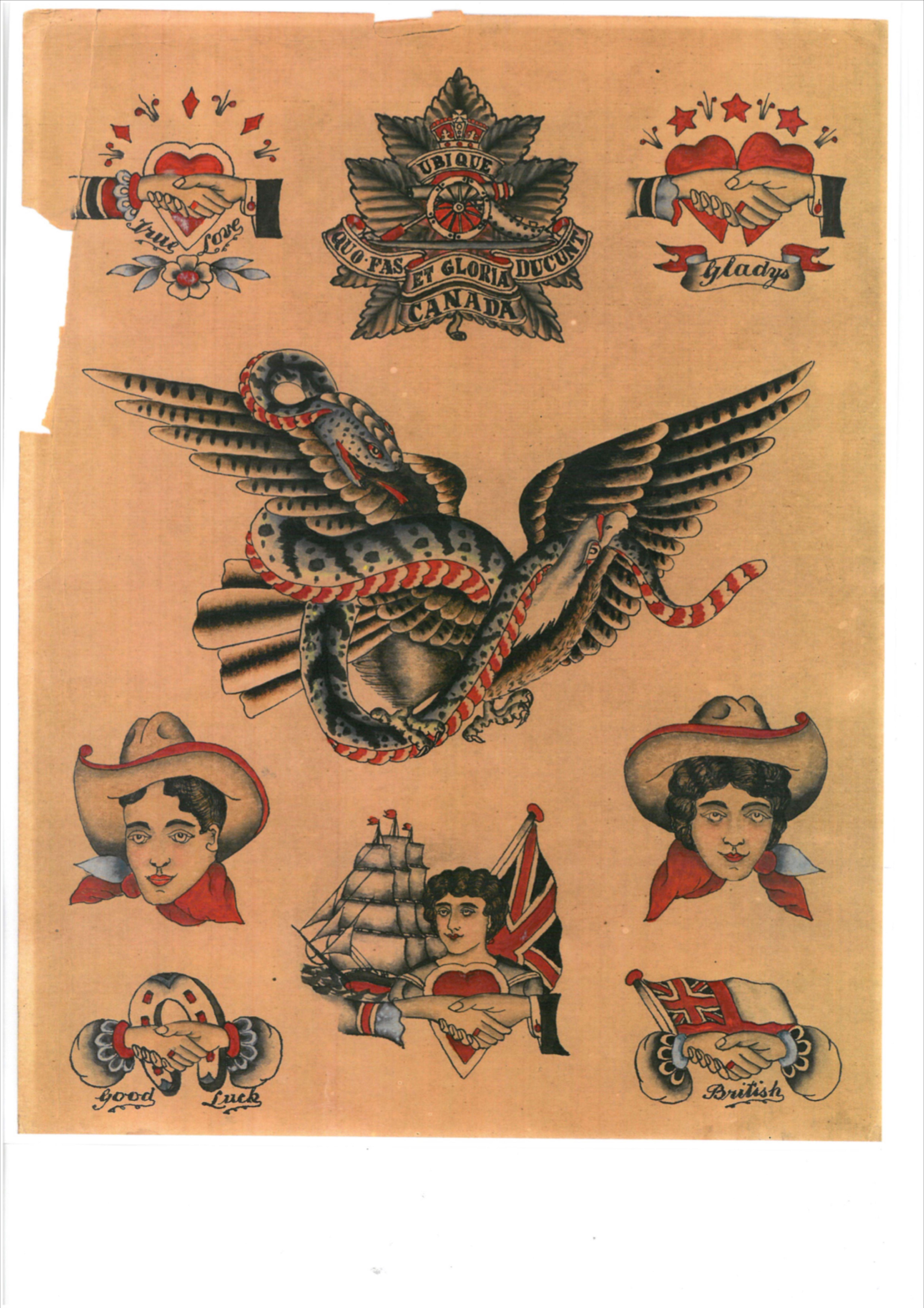 Photo of Cecil Rhodes tattoo history, old tattoo flash