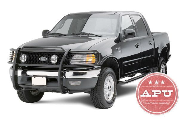 Fits 1999 2003 Ford F150 F250 Expedition 2x4 Grill Brush Guard Push Bar Black Ebay F150 Truck Accesories Ford F150