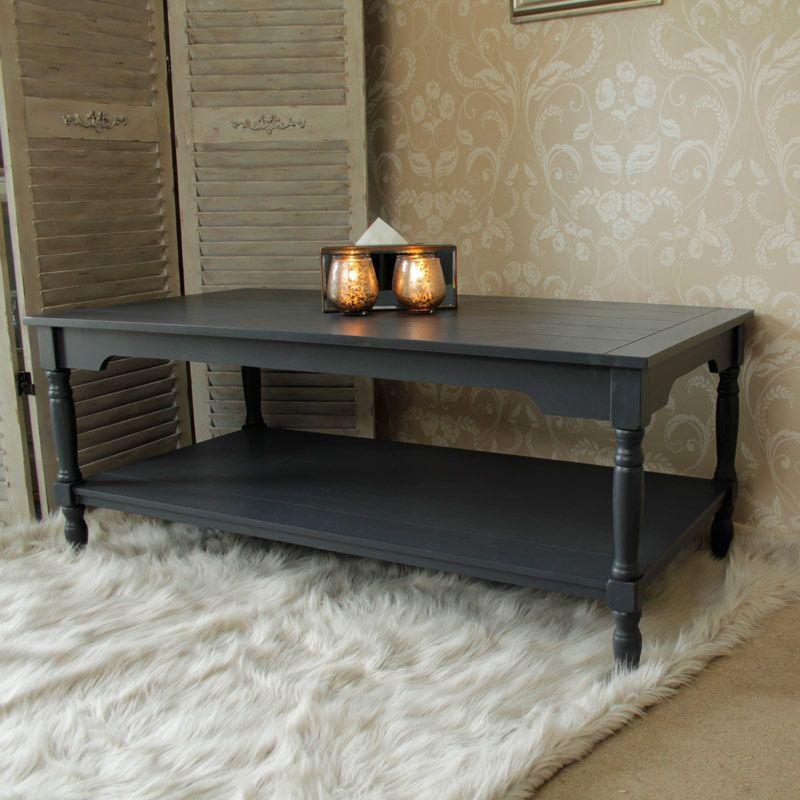 Anastasia Range Dark Grey Coffee Table New Coffee Table