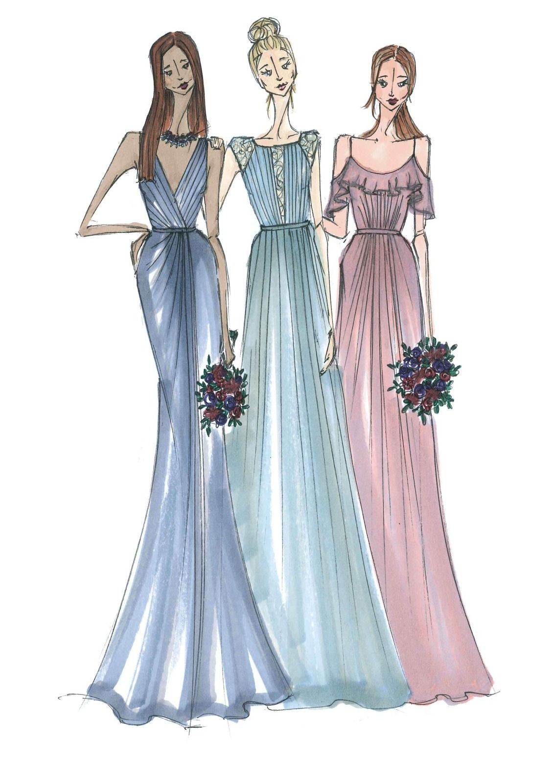Bridesmaid dresses decoded from fabric to price davids bridal bridesmaid dresses decoded from fabric to price davids bridal has beautiful and affordable bridesmaid ombrellifo Choice Image
