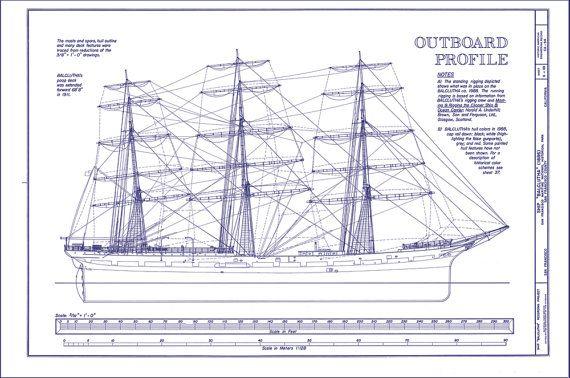Navy boat blueprint blueprint pinterest items similar to blueprint art poster ship 1886 on etsy malvernweather Choice Image