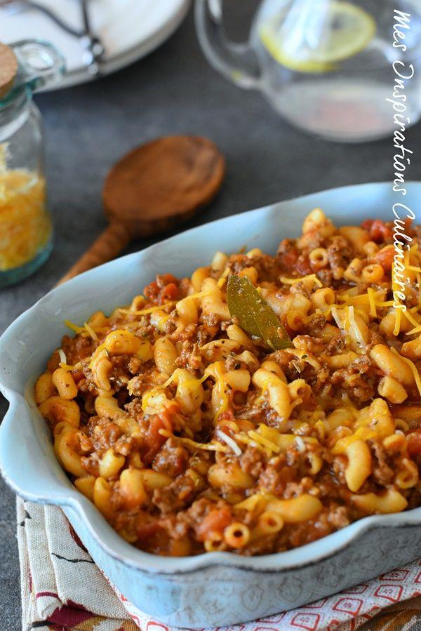 Recette goulash de boeuf américain | Le Blog cuisine de Samar #fastrecipes
