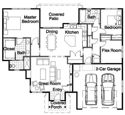 Daylight rambler house plans daylight free engine image for user manual download - Cool rambler home designs ...