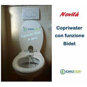 Copriwater Con Bidet Sedile Con Funzione Bidet Incorporato Art