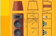 Skema Box Speaker 15x2 Speaker Audio