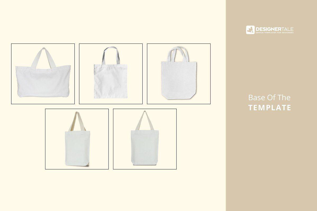 Download Tote Bag Mockup Set In 2020 Bag Mockup Small Tote Bags Tote Bag