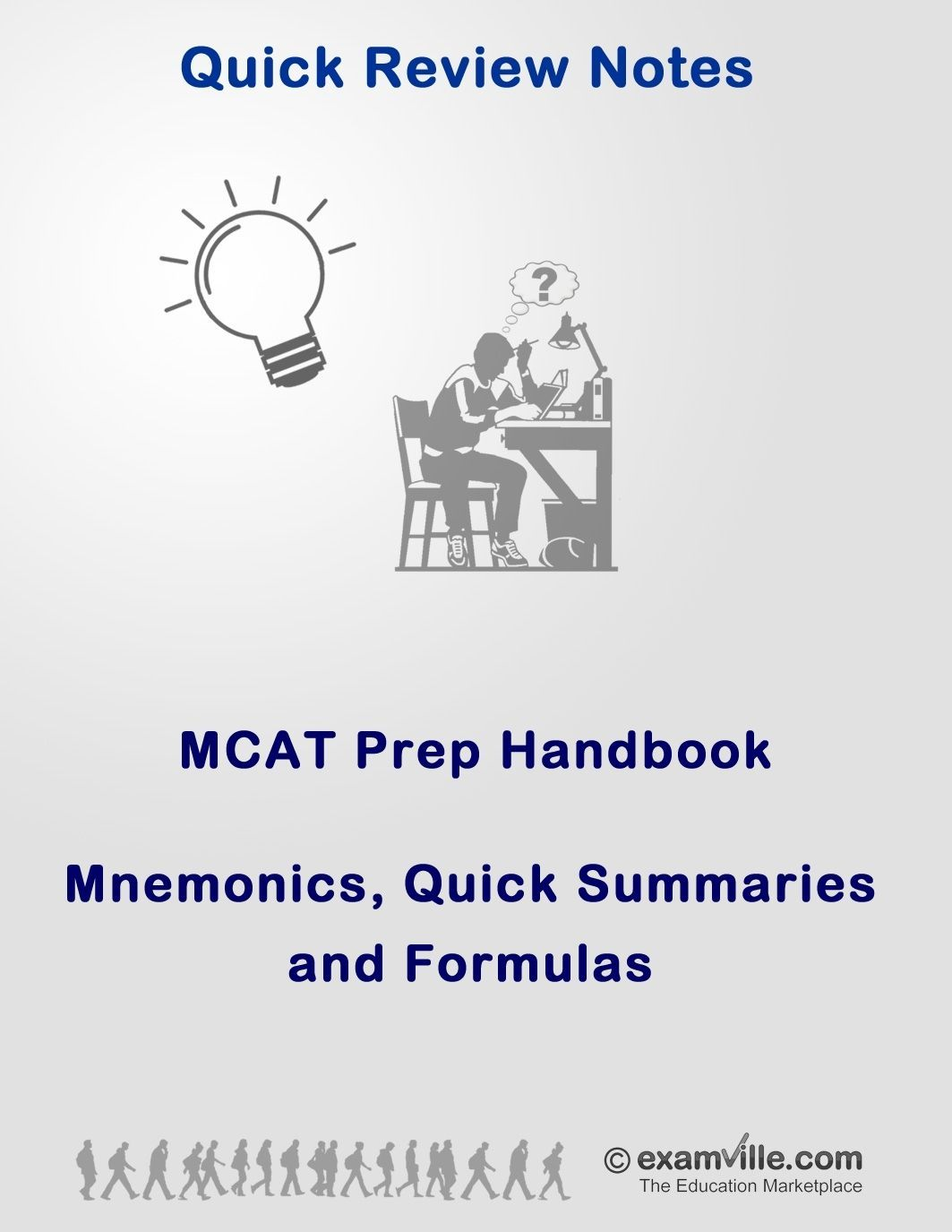 MCAT Handy Prep Handbook. Quick Review MCAT Review Notes for the ...