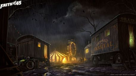 Scary Carnival Background Scary carnival background evil & Scary Carnival Background Scary carnival background evil | Circus ...