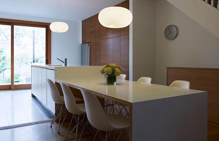 Corian keuken en tafelblad naadloos kitchen