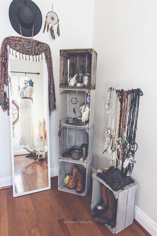 Bohemian Bedroom :: Beach Boho Chic :: Home Decor + Design :: Free Your Wild