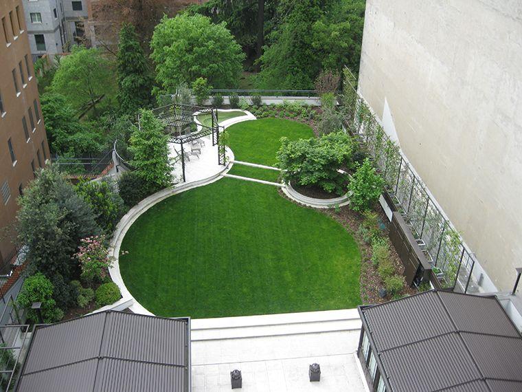 Ag p architettura dei giardini e del paesaggio giardino for Architettura giardini